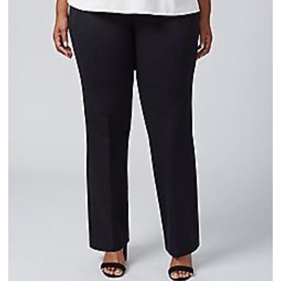3fc2bf4c6b8 NWT Lane Bryant Classic Trouser Pants